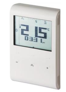 Ψηφιακός Θερμοστάτης χώρου επίτοιχος