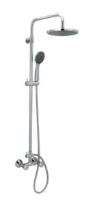 Ντουζιέρα Ρυθμιζόμενου Ύψους, Corona Optimum (00-4350), Modea, Viospiral
